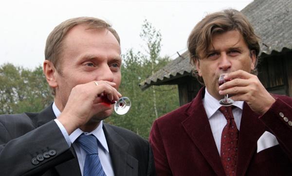 Donald Tusk, Janusz Palikot